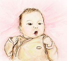 Baby Portrait by Claude Dia
