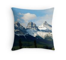 Rockies'  Three Sisters Throw Pillow