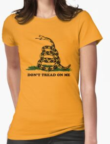Don't Tread on Me  Womens Fitted T-Shirt