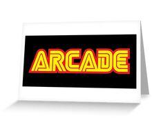 Retro Arcade Greeting Card