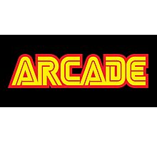 Retro Arcade Photographic Print