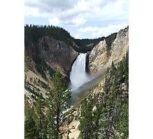 Yellowstone Falls Photographic Print