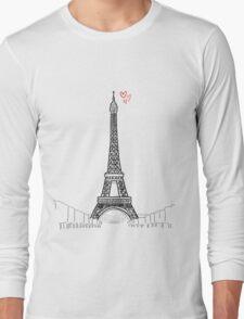 Tour Eiffel Long Sleeve T-Shirt