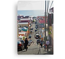 Down hill Metal Print
