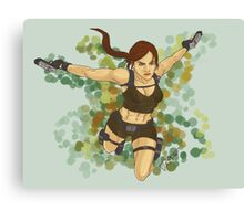 Tomb Raider Underworld Canvas Print