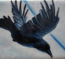 Raven Flight by Melanie Pople