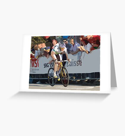 Cadel Evans Greeting Card