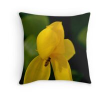 Bee-have #2 Throw Pillow