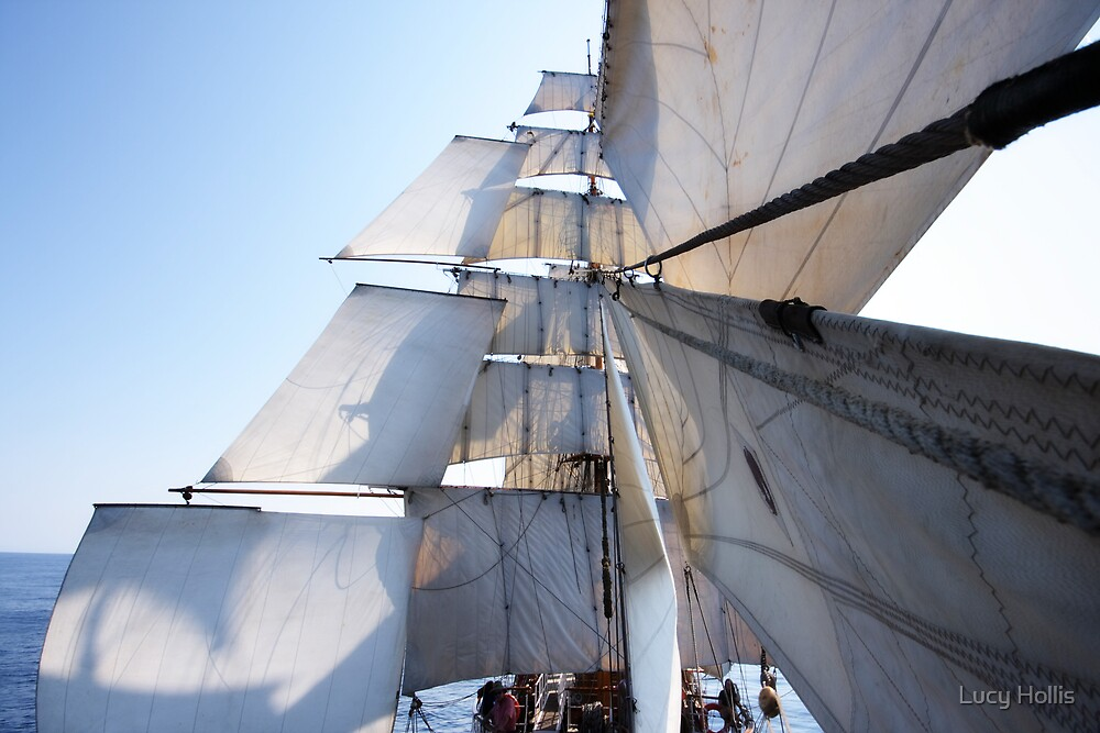 Under Full Sail by Lucy Hollis