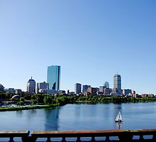 Boston Skyline by kittyrodehorst