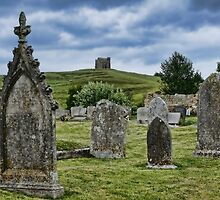 In The Shadow Of Saint Catherine's Chapel ~ Abbotsbury by Susie Peek