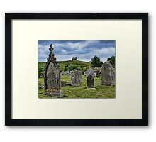 In The Shadow Of Saint Catherine's Chapel ~ Abbotsbury Framed Print