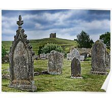 In The Shadow Of Saint Catherine's Chapel ~ Abbotsbury Poster