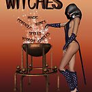 Witches calendar cover by LoneAngel