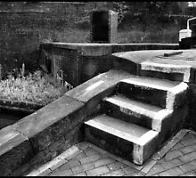 Canal Lock Steps 1 by Jazzdenski
