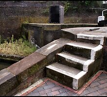 Canal Lock Steps 2 by Jazzdenski