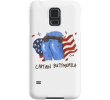 Captain Buttmerica Samsung Galaxy Case/Skin