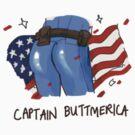 Captain Buttmerica by derlaine