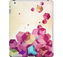 Color Cubes iPad Case/Skin