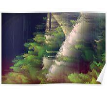 Ka-a-ark! (Marsh Landscape in the Rain) Poster