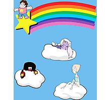 Steven in the Sky with Gems Photographic Print