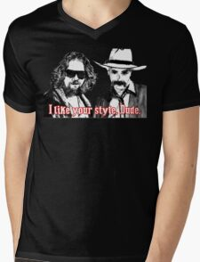 Big lebowski Mens V-Neck T-Shirt