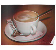 'Le Caffeine' 3D Poster