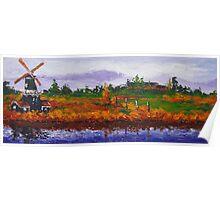 Landscape V • original painting by tilen Poster