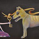 Tragicaly Extinct  - The Thylacine by Melanie Pople