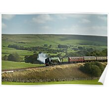 'Tornado' on The Settle & Carlisle Railway. Poster
