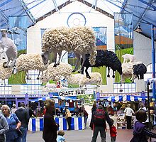 World Trade Fair - Market Hall - Abergavenny by missmoneypenny