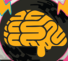 DMMD logo Jerry Braine in color! v2 Sticker