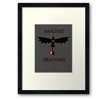 Imagine Toothless Framed Print