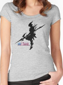 FFXIV-RR - Dragoon Women's Fitted Scoop T-Shirt