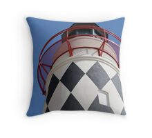 Harborwalk Lighthouse, Destin Pass Throw Pillow