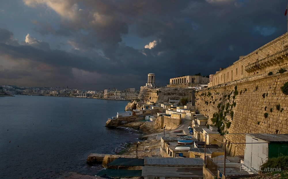Re-Visited Bell-Tower Valletta Malta by Edwin  Catania