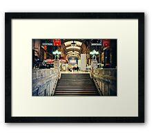 Milan central station Framed Print