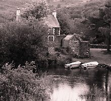 The River Wardens cottage by Graham Povey