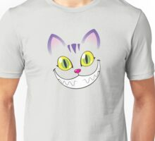 Cheshire cat face Unisex T-Shirt