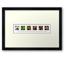 Fireman's Challenge Framed Print