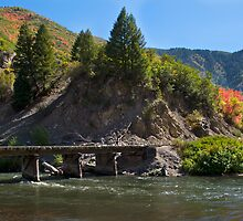 Railroad Bridge by Marc McDonald