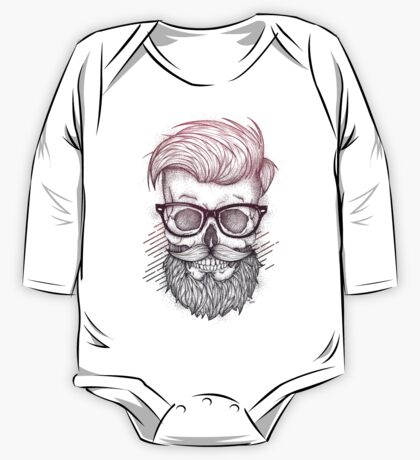 Hipster is Dead One Piece - Long Sleeve