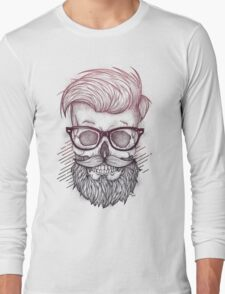 Hipster is Dead Long Sleeve T-Shirt
