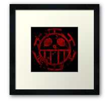 - ONE PIECE - Trafalgar Law - Death Framed Print