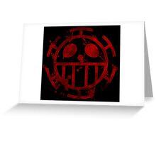 - ONE PIECE - Trafalgar Law - Death Greeting Card