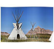 Badlands, South Dakota Poster