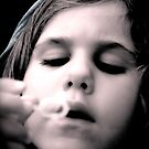 blowing bubbles by Briana C