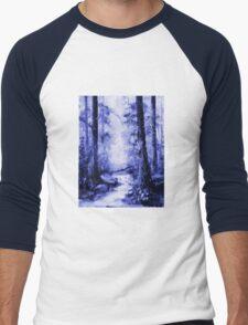 The Magic Forest 1.1  Men's Baseball ¾ T-Shirt