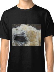 Water Over The Weir, Cataract Gorge, Launceston, Tasmania, Australia. Classic T-Shirt