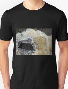 Water Over The Weir, Cataract Gorge, Launceston, Tasmania, Australia. Unisex T-Shirt
